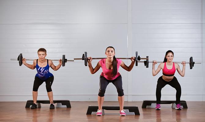 Hot iron: классика силовых тренировок в группе