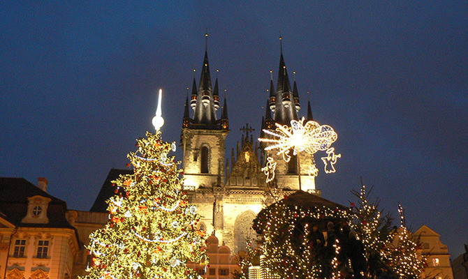 На Рождество в Европу