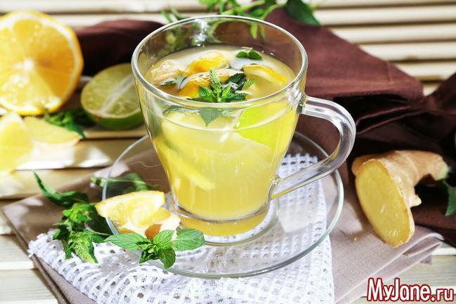 Лимонный напиток для укрепления иммунитета