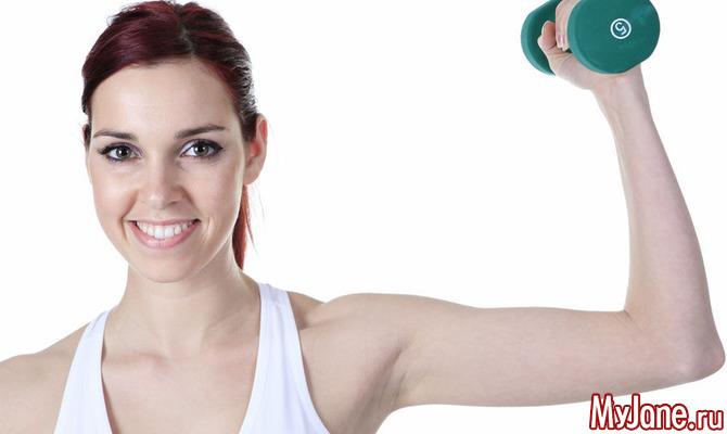 Лучшие упражнения на трицепс для девушек