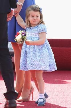 2-летняя принцесса Шарлотта уже говорит на двух языках