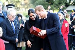 В Уэльсе принцу Гарри и Меган Маркл вручили свадебный подарок