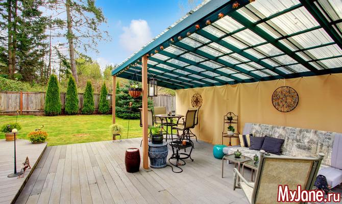 Душа дома: как обустроить летнюю террасу
