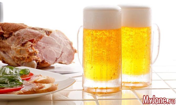 Какие продукты несовместимы с алкоголем?