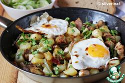 Жаркое со свининой и картофелем