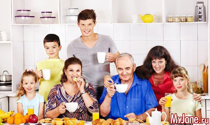Дружная дружина: как организовать быт в большой семье