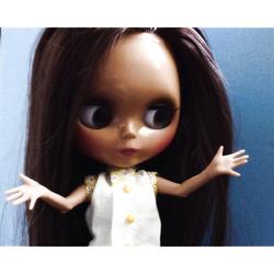 Летняя рубашка для куклы блайз своими руками