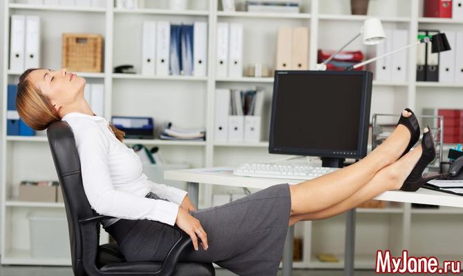 Офис как спортзал: 15 упражнений для «кабинетного» фитнеса