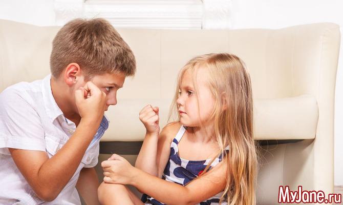 Детская агрессия: что делать родителям?