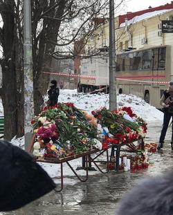Россия скорбит по погибшим в Кемерово