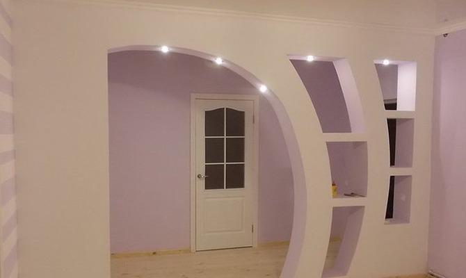 Межкомнатные арки — украшение интерьера