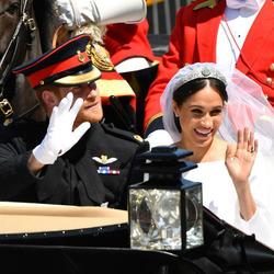 Меган и Гарри. Это была не самая классическая королевская свадьба