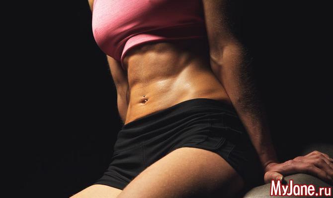 Упражнения для брюшных мышц из положения «стоя»