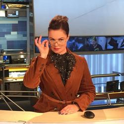 Екатерина Андреева вернулась на первый канал