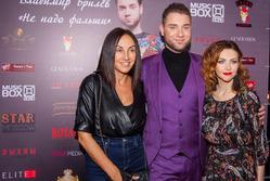 Афина стала гостем презентации клипа Владимира Брилёва
