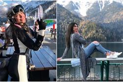 Валерия Барченко освоила горные лыжи