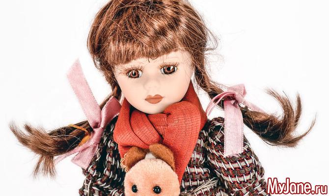 Все о кукольных волосах: материалы, уход и окраска