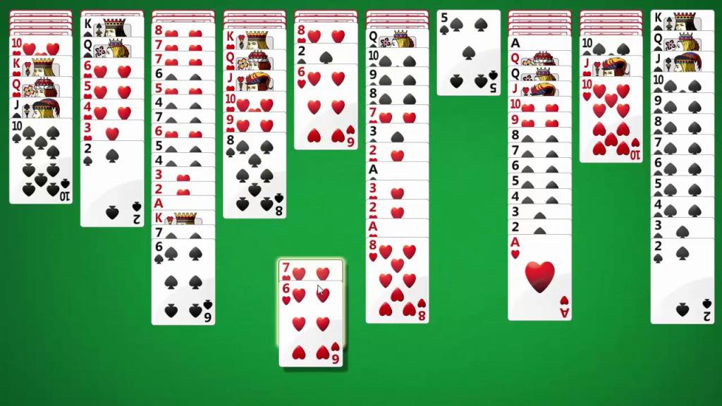 как играть в косынку в карты правила