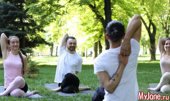 Йога-пикник: выходные с пользой