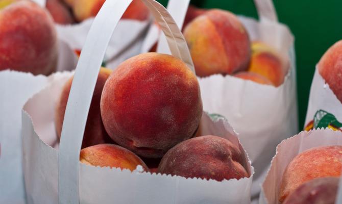 О пользе персика