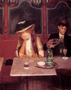 И снова про абсент... или Богемные пьяницы.