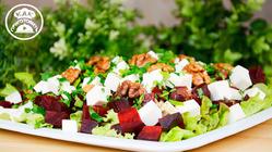 Салат из запеченной свеклы с сыром - Поражает вкусом и ароматом!