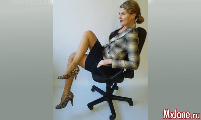 Фитнес на офисном стуле