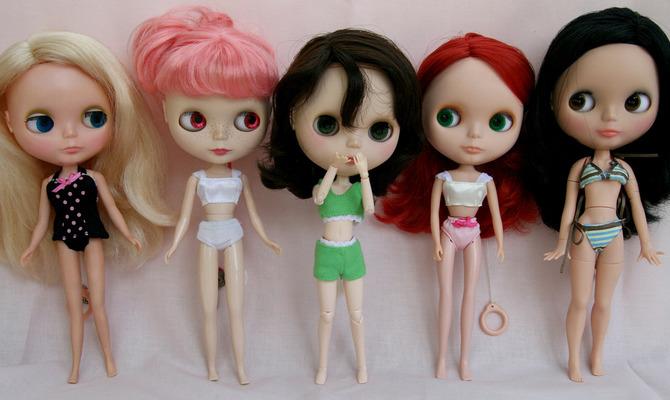 Blythe - куклы с «живыми» глазами