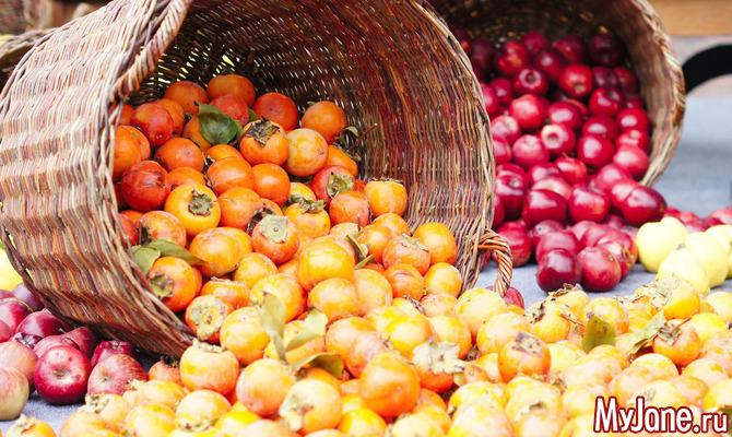 Зимние фрукты: хурма и цитрусы