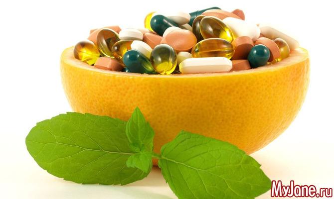 Витамины, не дающие стареть - А и Е