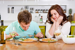 Худеет жена – на диете и муж?