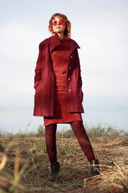 Трикотажные платья на каждый день, мода 2019