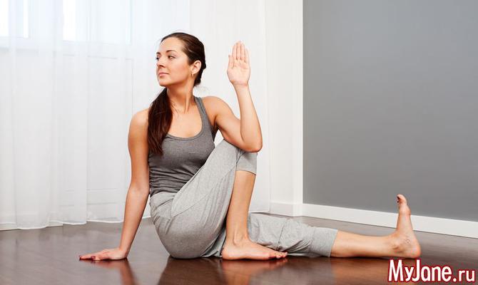 Йога для поясницы