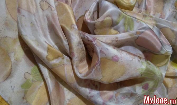 Крашение ткани своими руками