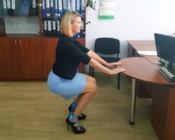 Фитнес в офисе: каблук вместо кроссовок