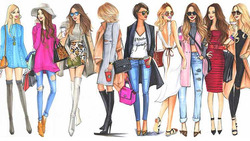 Модная тема