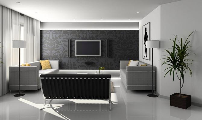 Гостиная в стиле контемпорари: доступная изысканность