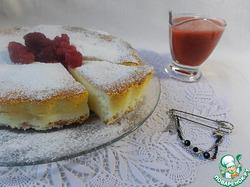Чизкейк Мазлтов с клубнично-малиновым соусом