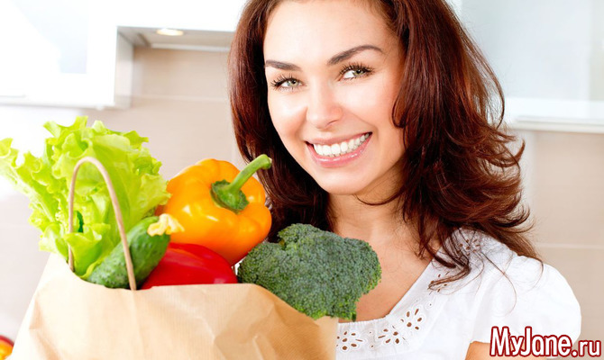 Овощная диета — фаворит среди осенних диет
