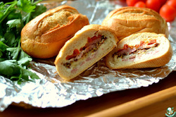 Бутерброды-булочки