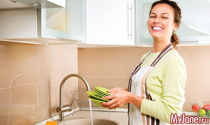 Можно ли мыть посуду в гостях?