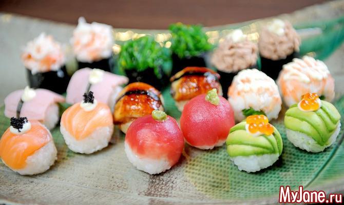 Идем на восток: вредны ли суши и роллы для фигуры