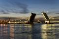 Разведение мосто в Питере