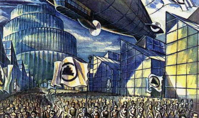 «Мы» Евгения Замятина: фантастика или наше будущее?