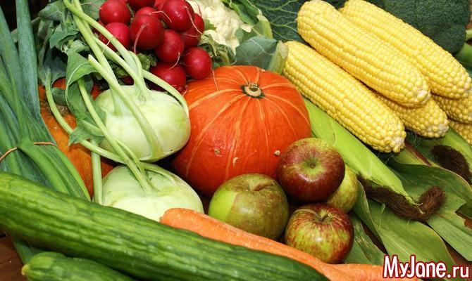 Блюда из овощей и фруктов