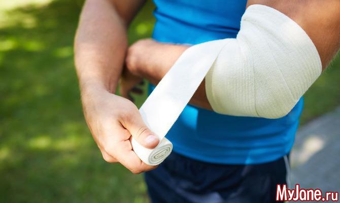 Лечение травм от физических упражнений
