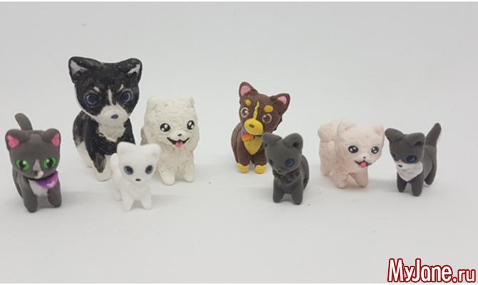 Игрушки из легкого пластилина своими руками