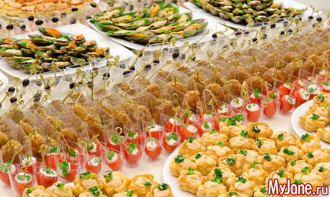 Пикантные закуски из красной рыбы и сыра