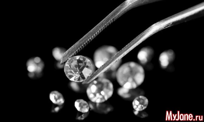 Бриллианты - камни, называемые лучшими друзьями девушек