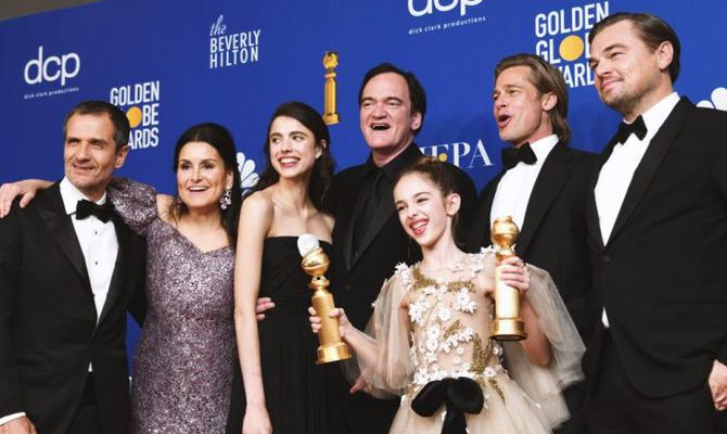 Триумфатор «Золотого глобуса» - фильм «Однажды… в Голливуде»